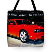 2009 Dodge Challenger Number 2 Tote Bag