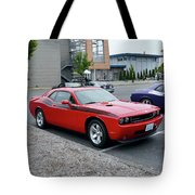 2009 Dodge Challenger Rt Lyster Tote Bag