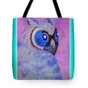2009 Owl Negative Tote Bag by Lilibeth Andre