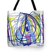 2010 Abstract Drawing Nineteen Tote Bag