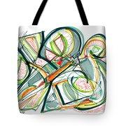 2010 Abstract Drawing Seventeen Tote Bag