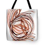 2010 Abstract Drawing Six Tote Bag