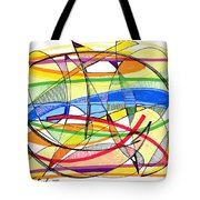 2010 Abstract Drawing Sixteen Tote Bag