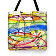 2010 Abstract Drawing Sixteen Tote Bag