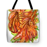 2010 Abstract Drawing Ten Tote Bag