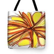 2010 Abstract Drawing Thirteen Tote Bag
