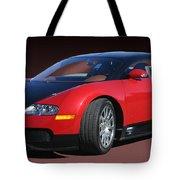 2010 Bugatti Veyron E. B. Sixteen Tote Bag