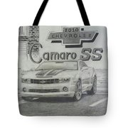 2010 Chevrolet Camaro Ss  Tote Bag