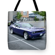 2010 Dodge Challenger Rt Lyster Tote Bag