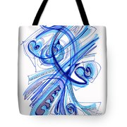 2010 Drawing Four Tote Bag