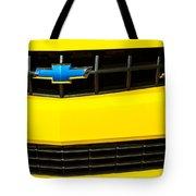 2010 Nickey Camaro Grille Emblem Tote Bag
