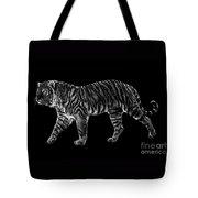 Tigers Gait Tote Bag