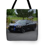 2011 Dodge Charger Rt Lopez Tote Bag