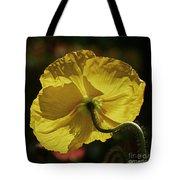 2011, Yellow Poppy Tote Bag