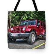 2011 Jeep Wrangler Tote Bag