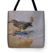 2012-baby Green Heron Tote Bag