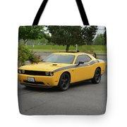 2012 Dodge Challenger Rt Clark Tote Bag