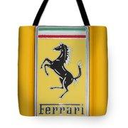 2012 Ferrari Hood Emblem Tote Bag