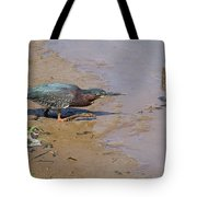 2013-baby Green Heron Tote Bag