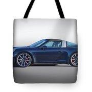 2014 Porsche 911 Targa 4s 'studio' Tote Bag