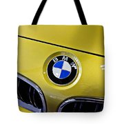2015 Bmw M4 Hood Tote Bag by Aaron Berg