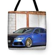 2014 Mr Racing Audi A7 Sportback 3tdi Tote Bag