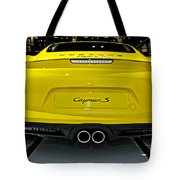 2014 Porsche Cayman S Number 2 Tote Bag