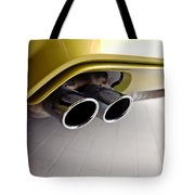 2015 Bmw M4 Exhaust Tote Bag by Aaron Berg