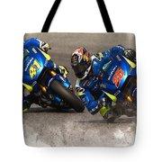 2015 Catalunya Top Motogp Saturday  Tote Bag