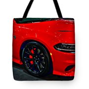 2015 Dodge Charger Srt Hellcat Tote Bag