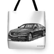 2015 Jaguar X J L Tote Bag