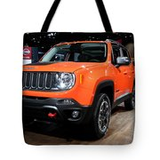 2015 Jeep Renegade Trailhawk Number 3 Tote Bag