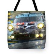2015 Le Mans Gte-am Porsche 911 Rsr Tote Bag