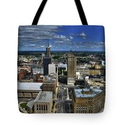 2015 View Of Court Street Tote Bag