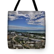 2015 View Of The Skyway  Tote Bag