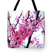 2016-03-18 Redbud Tree In Bloom Tote Bag