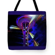 2016 At The Space Needle Tote Bag