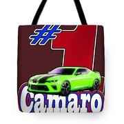 2016 Camaro Tote Bag