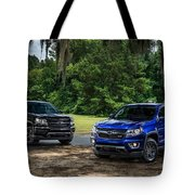 2016 Chevrolet Colorado Midnight Edition Trail Boss Tote Bag