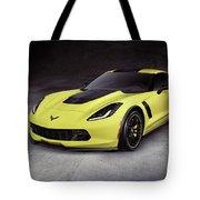 2016 Chevrolet Corvette Z06 Coupe Sports Car Tote Bag