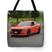 2016 Dodge Charger Rt Ragen Tote Bag