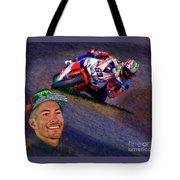 2016 Fim Superbike Nicky Hayden Tote Bag