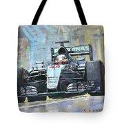 2016 Monaco Gp Mercedes Amg Petronas Hamilton  Tote Bag
