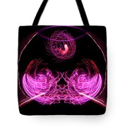 201606040-039b Bowl Of Fireworks 4x5 Tote Bag