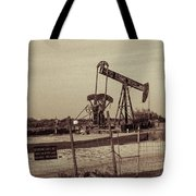 2016_10_pecos Tx_ Pump Jacks 1 Tote Bag