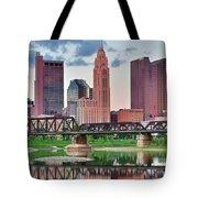 2017 Columbus Panoramic Tote Bag