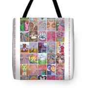 2017 Commemorative Breast Strokes Poster Tote Bag