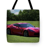 2017 Corvette Tote Bag