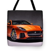 2017 Jaguar F Type Tote Bag