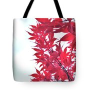 2017 Red Maple 3 Tote Bag